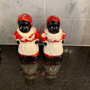 Vintage Aunt Jemima Salt and Pepper Shakers